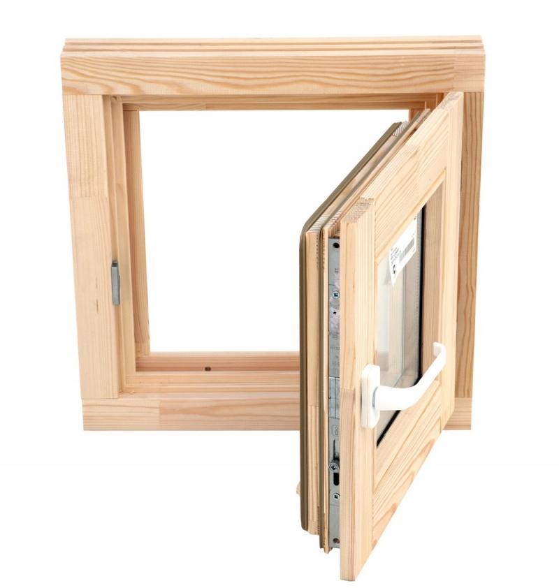 Окно деревянное обычное цена